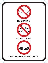 skating signs