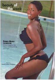 beauty black woman