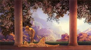 daybreak maxfield parrish