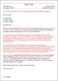 cover letters template