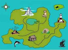 treasure map for children