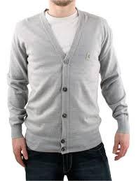 mens grey cardigans