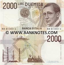 italian paper money