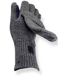 fingerless glove mitten