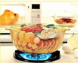 glass cooking pans