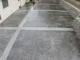 cement patio designs