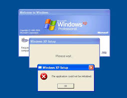 error windows xp