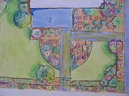 small flower bed design