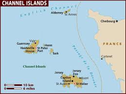 channel islands maps