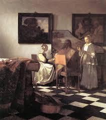 jan vermeer the concert