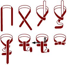 tying bowtie