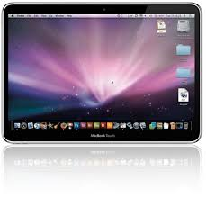apple touch screen netbook