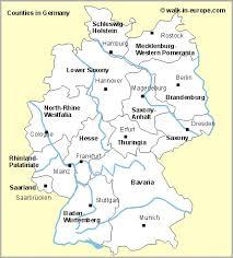 germany tourist map