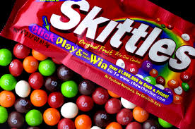 picture of skittles candy