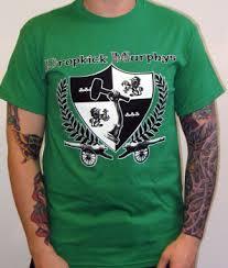 dropkick murphys tee shirts