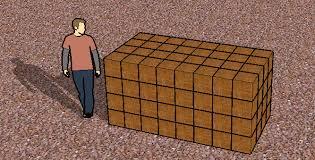 1 cubic feet