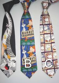 cartoon neck ties