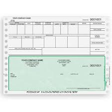 blank payroll check