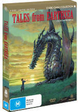 earthsea dvd