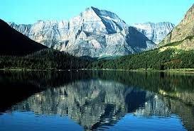 glacier national park located