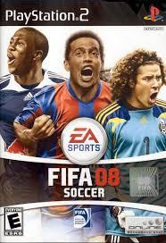 fifa soccer 08 ps2