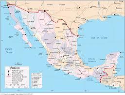 mapa carretera mexico