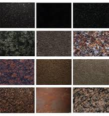 granite color samples
