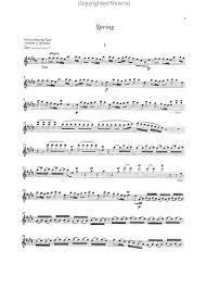 the four seasons sheet music