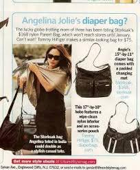 celebrity diaper bag