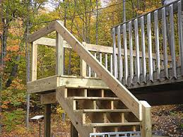 deck stair rails