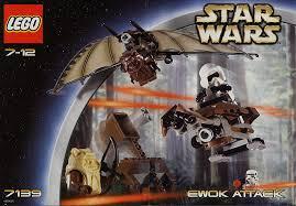lego starwars ewok attack