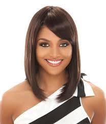 black straight hair styles