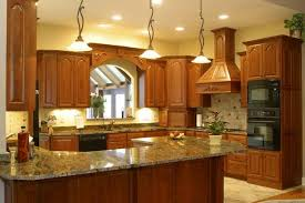 kitchen with granite countertops