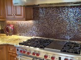 glass mosaic tiles kitchen
