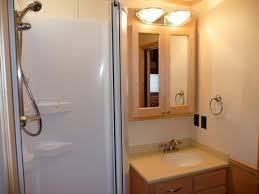 motorhome showers