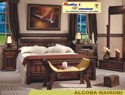 camas rusticas