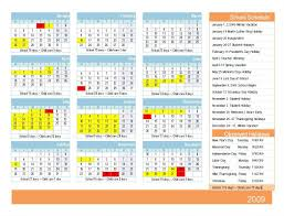 child calendar