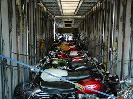 motorcycle van