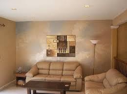 metallic paint wall