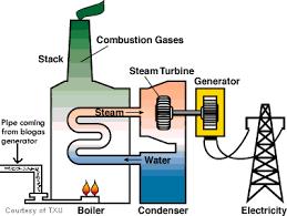 biogas electricity