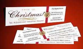 christmas tickets