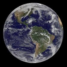 satellite view of the world