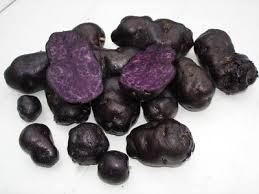 black potatoes