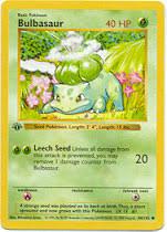 bulbasaur cards