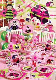ladybugs party supplies