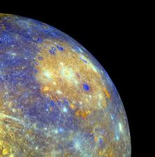 planet mercury color