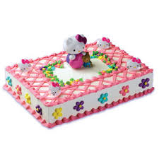 hello kitty cake decorating