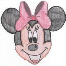 drawings of minnie mouse
