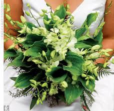green bridal bouquets