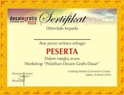 bingkai sertifikat